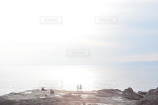 海,空,太陽,雲,光,江ノ島,sea,オールドレンズ,冬の海,太陽の光,ツーショット
