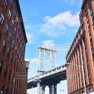 マンハッタン橋の写真・画像素材[1021572]