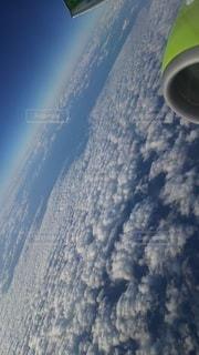 空,雪,屋外,青,地球,あお,クラウド