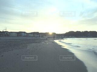 自然,風景,海,空,屋外,朝日,ビーチ,雲,海辺,水面,海岸,正月,お正月,日の出,新年,初日の出
