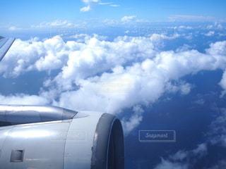 空,カメラ女子,雲,青,飛行機,旅行,航空機,フォトジェニック