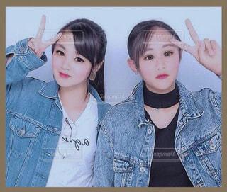 JKプリクラの写真・画像素材[3190297]