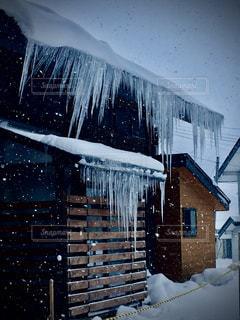 冬,雪,屋外,つらら,豪雪