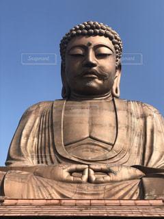 像,大仏,寺,仏教
