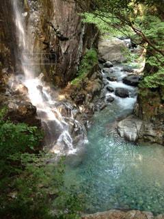 滝の写真・画像素材[3186680]