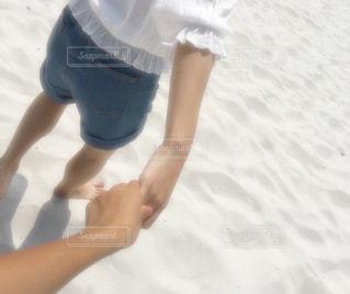 風景,海,カップル,白,ビーチ,砂浜,女,男,人