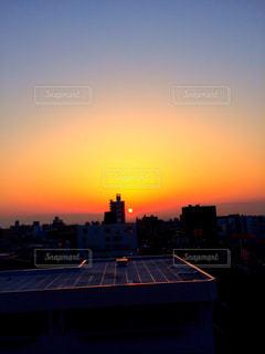 自然,風景,空,太陽,光,朝焼け,朝,日の出,希望