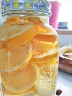 レモン酢の写真・画像素材[3191207]