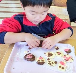 クッキー作りの写真・画像素材[3198765]