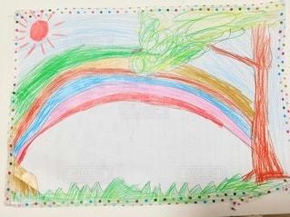 虹の絵の写真・画像素材[3230129]