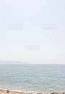 海と子どもの写真・画像素材[3355069]