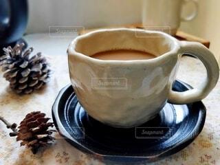 コーヒーのクローズアップの写真・画像素材[4314148]