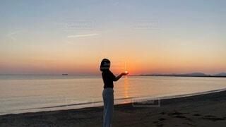 夏の終わりの写真・画像素材[4765716]