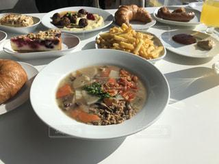 食べ物,風景,食事,朝食,ディナー,テーブル,皿,スープ,たくさん,料理,moaning