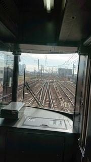 電車,線路,景色
