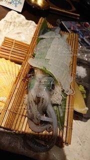 食べ物,刺身,イカ