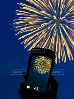 空,花火,夕方,花火大会,打ち上げ花火,Fireworks