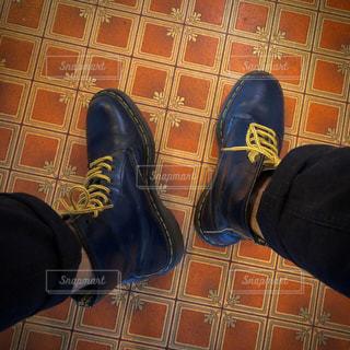 靴,床,ブーツ,クッションフロア