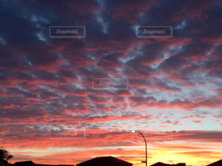 空の雲の群の写真・画像素材[3192300]