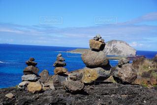 自然,風景,海,空,屋外,水面,海岸,山,岩,ハワイ,Hawaii,石,岬,眺め,クラウド,東海岸