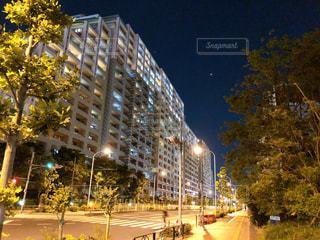 空,建物,夜,屋外,都会,高層ビル,ホテル