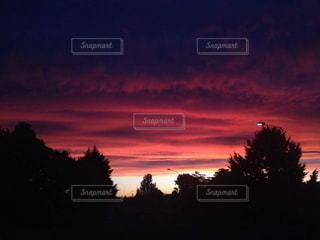 自然,風景,空,夜,屋外,ピンク,太陽,雲,夕暮れ,暗い