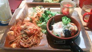 食べ物,カフェ,ランチ,野菜,パスタ,料理,美味しい,ハンバーグ
