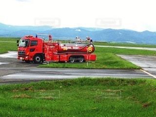 消防車の写真・画像素材[3357754]