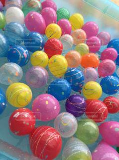 夏,カラフル,水,風船,ボール,たくさん,祭り,カラー