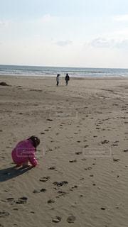 自然,海,空,砂,ビーチ,砂浜,海岸,人物,人