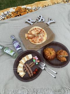 お家でおしゃれピクニックの写真・画像素材[3194679]