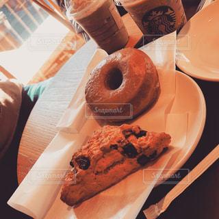 食べ物,カフェ,スターバックス,パン,デザート,ドーナツ
