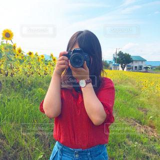 カメラ越しからの写真・画像素材[3197288]