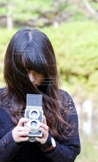 レトロなカメラの写真・画像素材[3413204]