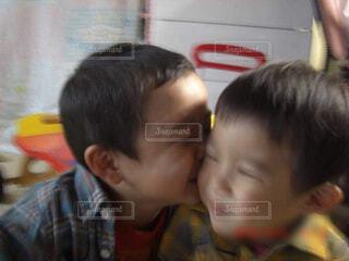 仲良しな2人の写真・画像素材[4624524]