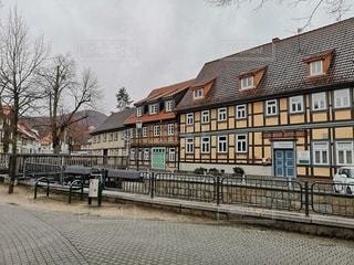 空,建物,屋外,窓,ドイツ,田舎町