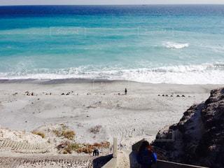風景,海,屋外,ビーチ,砂浜,海岸,新島