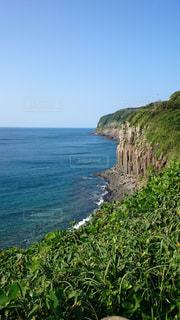 自然,風景,海,屋外,緑,海岸,岬,眺め