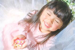 天使の笑顔の写真・画像素材[4118667]