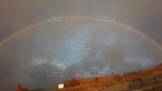 空,雲,虹,幸せ