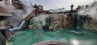 自然,風景,温泉,波,水面,滝,観光,古い,湯畑,温泉街