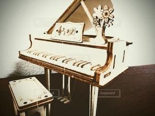 グランドピアノの置物の写真・画像素材[3209129]