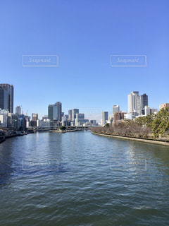 大阪の秋空の写真・画像素材[3281180]
