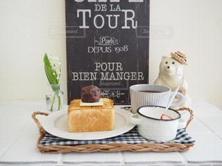 食べ物,コーヒー,朝食,テーブル,皿,クッキング,おいしい,おうちカフェ,手作り,ライフスタイル,パン作り,コーヒー カップ