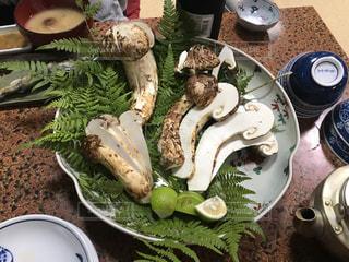 食べ物,食事,野菜,皿,松茸,きのこ