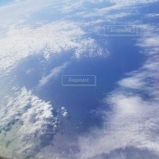 自然,空,雲,飛行機,日中