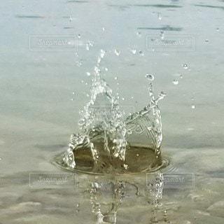 川,水面,石