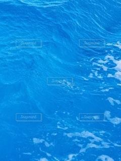 海,青,波,水面,泡,昼間
