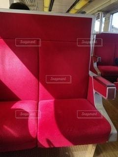 赤,昼間,空席,ロ-カル電車