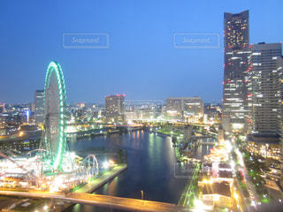 横浜の夜景の写真・画像素材[3235481]